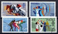 Poland - 1980 Olympic games Lake Placid & Moscow - Mi. 2674-77 FU