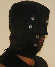 901 Originale in Pelle Cappuccio, staccata blindford, maschera di pelle, ledermaske, MASQUE