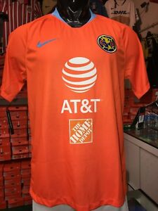 Image is loading Nike-Club-America-Official-2018-2019-Third-Soccer- d69c4abb8