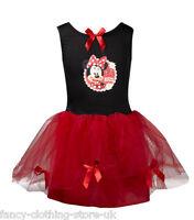 Disney Princess MINNIE MOUSE Red fairy TUTU Fairies Fancy Dress up Costume Party