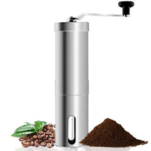 Portable-Stainless-Steel-Manual-Coffee-Conical-Burr-Grinder-Hand-Crank-Bean-Mill