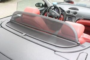 Deflector suitable for Mercedes SL r230 Black New Superior Quality