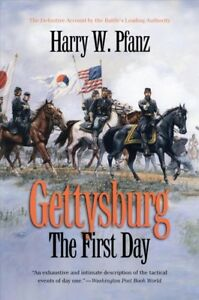 Gettysburg-The-First-Day-Paperback-by-Pfanz-Harry-W-Brand-New-Free-shi