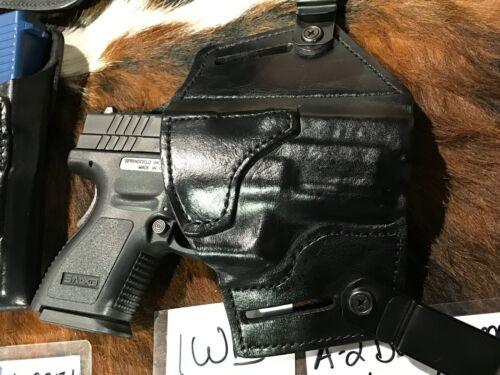 Targeting Shooting Holster Concealment BLK Dual Carry Holster,OWB//IWB RH