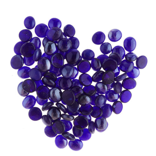6Colors 100Pcs Round Top Marbles Beads for Vase Refill 12-17mm//0.4-0.7inch