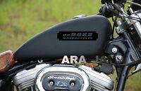 Daboss Motorcycles Decal Fuel Gas Tank Sticker Harley Davidson Bike Motorcycle B