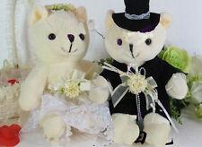 2X Wedding Teddy Bear Bride and Groom Exquisite Sweet