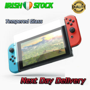 Nintendo-Switch-Console-Screen-Protector-Cover-Premium-Tempered-Glass-9H