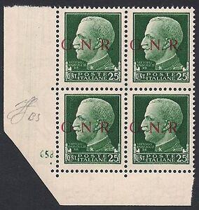 RSI-1943-25-cent-n-474-I-GNR-BRESCIA-NUMERO-DI-TAVOLA