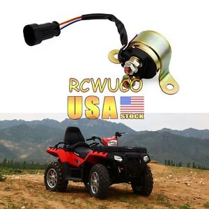 us stock starter relay solenoid atv for polaris sportsman. Black Bedroom Furniture Sets. Home Design Ideas