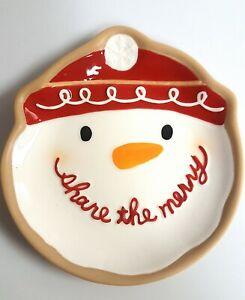 Hallmark-Snowman-Share-the-Merry-Christmas-Plate