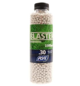 ASG Blaster 0.30 6mm BB /'s 3300 più recente Nuovo Stile Bottiglie Airsoft Gratuito UK Consegna