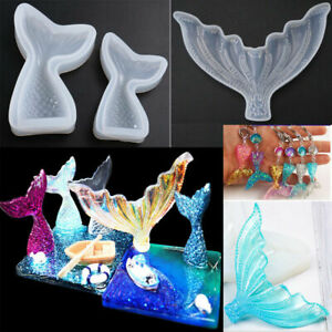 Mermaid Tail Resin Silicone Mold for Epoxy Resin Crafts