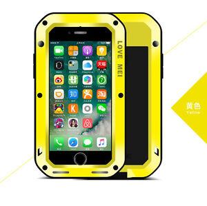 coque iphone 7 anti choc jaune