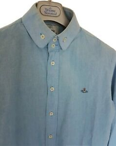 Mens-MAN-by-VIVIENNE-WESTWOOD-long-sleeve-shirt-size-48-medium-RRP-260