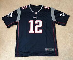 Details about Tom Brady New England Patriots #12 Nike Replica Jersey New w/Tags Size XXL