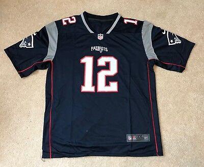 Tom Brady New England Patriots #12 Nike Replica Jersey New w/Tags Size XXL | eBay
