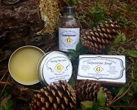 Southern Sampler - Healing Pine Salve, Turpentine Soap, & 100% Pure Turpentine