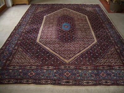Sanft Teppich Moud Persien 360 X 258 Cm Wolle Handgeknüpft Original 1980 Iran Orient Billigverkauf 50%