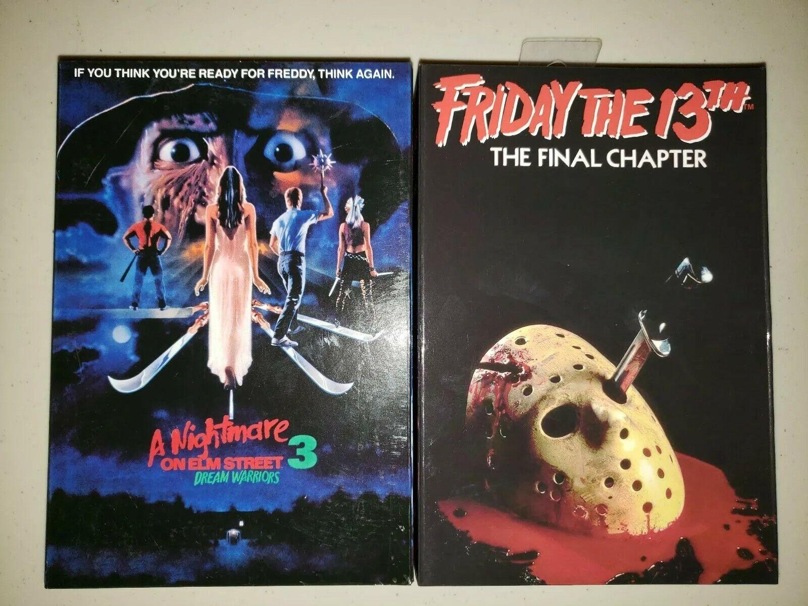 Friday The 13TH el capítulo final & pesadilla de Elm Street 3 Figuras De Acción
