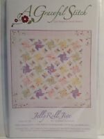 Jelly Roll Jive Quilting Pattern, From A Graceful Stitch