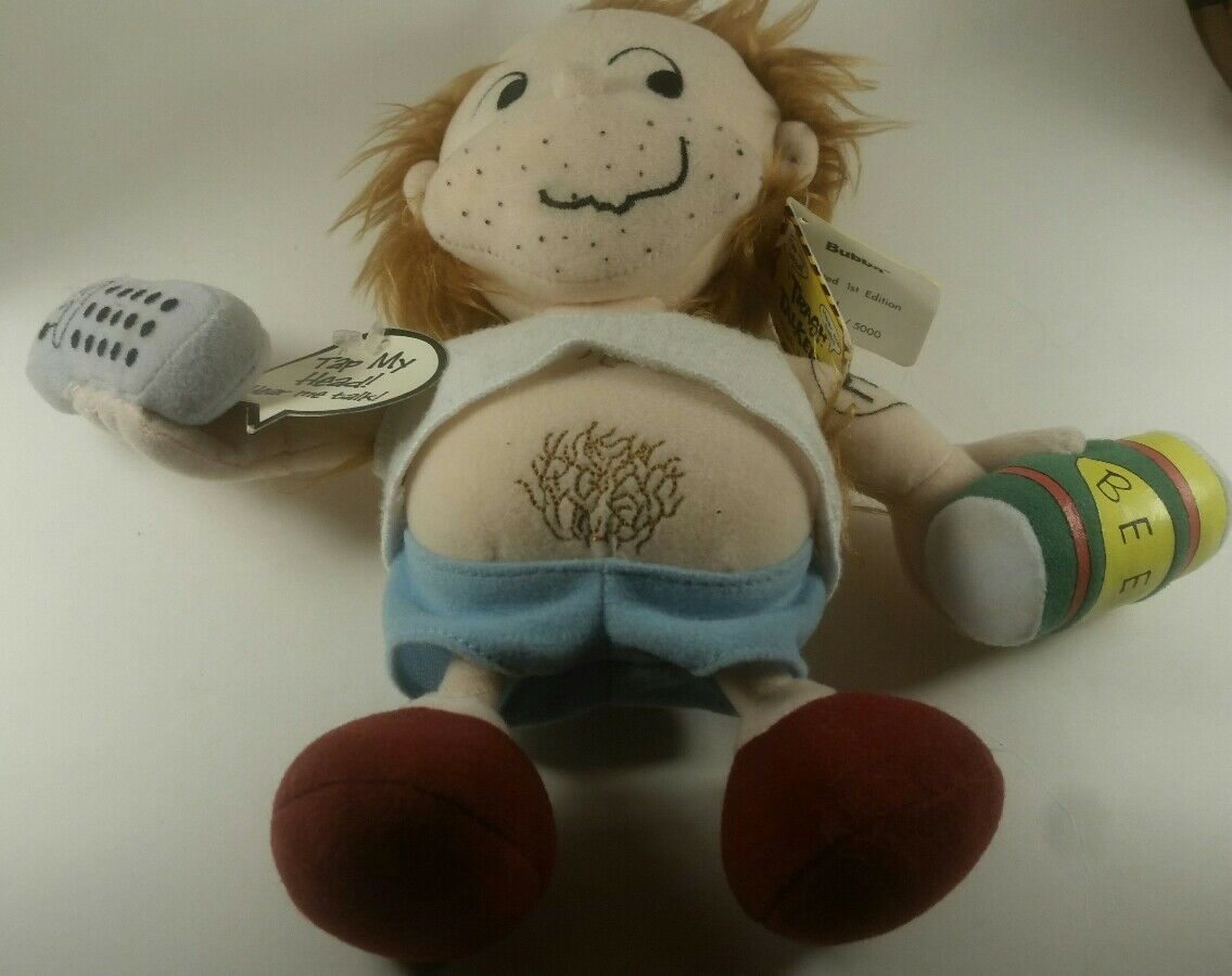RARE COLLECTIBLE 1st Edition Trash Talkers Doll - Bubba Adult Doll/Toy Limited