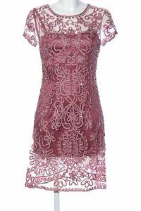NIENTE Abendkleid rot Casual-Look Damen Gr. DE 36 Kleid ...