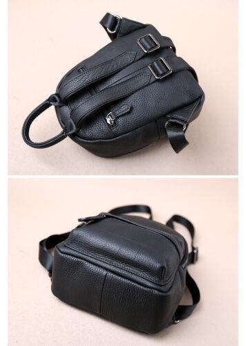 Small Women s Leather Mini Daypack Travel Bag Cute Purse Real Backpack  Rucksack OOZrwq 4b4dd84b27f65