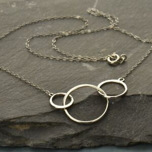 Simple-Minimalist-925-Sterling-Silver-Triple-3-Circle-Necklace-Gift-Woman-18-034