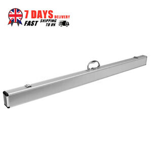 2-Piece-Jointed-Silver-Aluminum-alloy-Pool-Snooker-Corner-Protection-Cue-Case