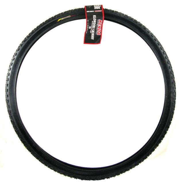 "1 or 2Pak Kenda Klondike Skinny 700 X 35 or 40c Winter//Ice Studded Bike Tire 29/"""