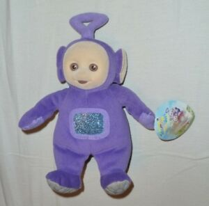 285521d26eef Eden Tinky Winky Teletubbies Plush NWT Bean Bag 1998 Purple 9 ...