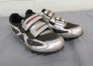 09046c214 Diadora Silver Mountain Bike Cycling Shoes w Cleats US Women s 8 EU ...