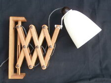 Vintage RARE Wall Mounted Extendable Scissor Arm MACLAMP by Conran for Habitat