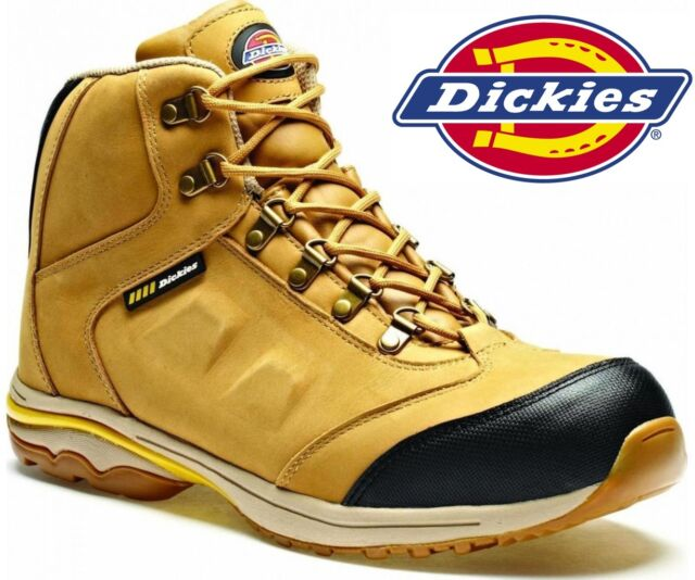MENS DICKIES WATERPROOF SAFETY WORK BOOTS SHOES HIKER COMPOSITE TOE CAP SZ