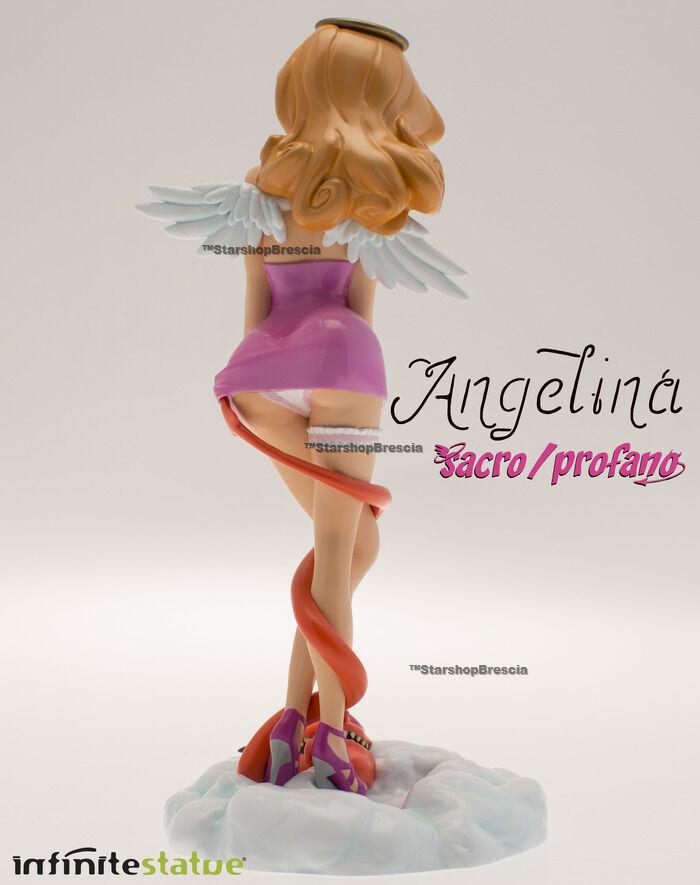 SACRO SACRO SACRO E PROFANO - Angelina Resin Statue Infinite Statue 1429e9