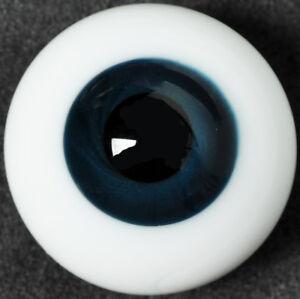 New 14mm LightBlue Glass Round Eyes For BJD MSD Iplehouse Dollfie Luts Ooak Doll
