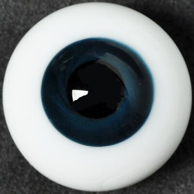 Nice 10mm purple Iris/&Black Pupil Glass BJD Eyes for Joint 1//6 BJD Dollfie