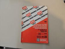Teile Katalog parts catalogue Aprilia AF1 125 Sport Pro 125 Pegaso Red Rose