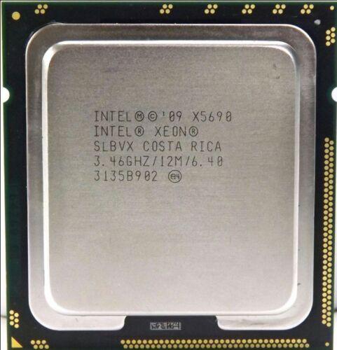 INTEL XEON 6 CORE X5690 SLBVX 3.46GHZ 12MB SMART CACHE CPU Processer