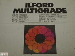ILFORD Multigrade Filtro Kit Gatto 1762617 Per Ingrandimento Con Carta