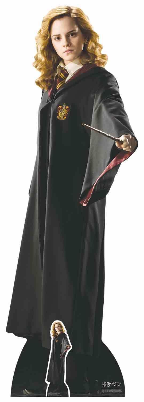 Hermine Granger Harry Potter Hogwarts Schuluniform Lebensechte Größe Pappfigur