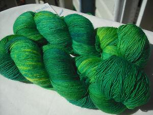 Hand-Dyed-100-Superfine-Merino-Wool-Lace-Knitting-Yarn-100g-x-887m