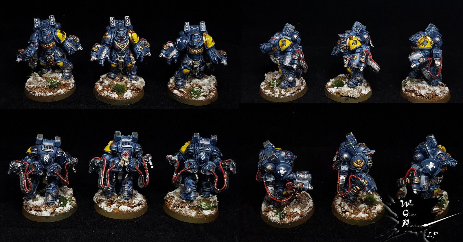 Custodian Guard 10 Man Squad Squad Squad Custodes Commission Superbly Painted Warhammer 40K 4aaa92