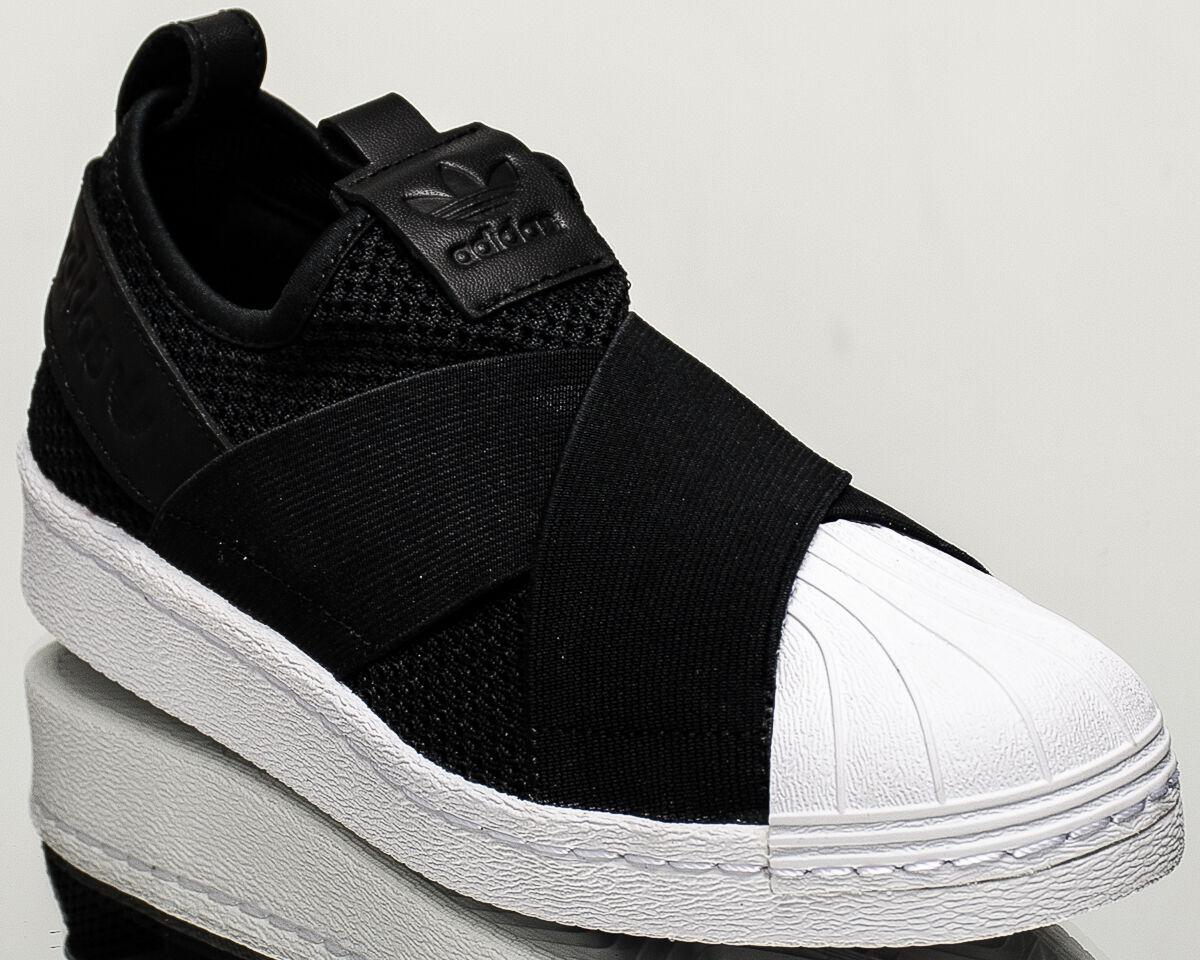 adidas Originals WMNS Superstar Slip On women lifestyle shoes NEW black BY2884