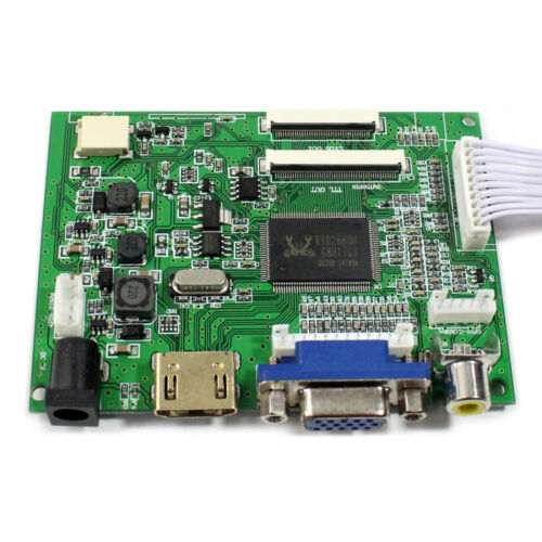 Hdmi Vga 2AV LCD Controller Board Para EJ080NA-04C HJ080IA-01E 40P 1024x768 LCD