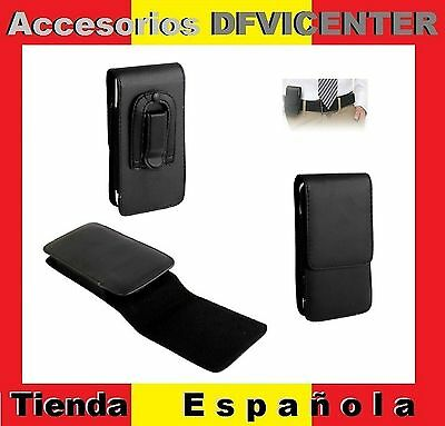 Leather Flip Belt Clip Case Holster Vertical para => Sony Xperia SP / XPERIA ZR