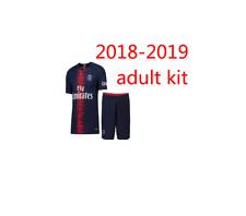 Maillot PSG Paris Saint Germain Adulte 2019 +short numéro et nom au choix