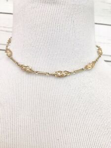 Details About Vintage Sarah Coventry Dainty Children S Necklace Costume Jewelry Retro