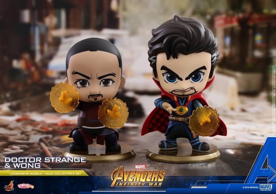 Hot Toys Avengers Infinity War Doctor Strange & Wong Cosbaby Marvel